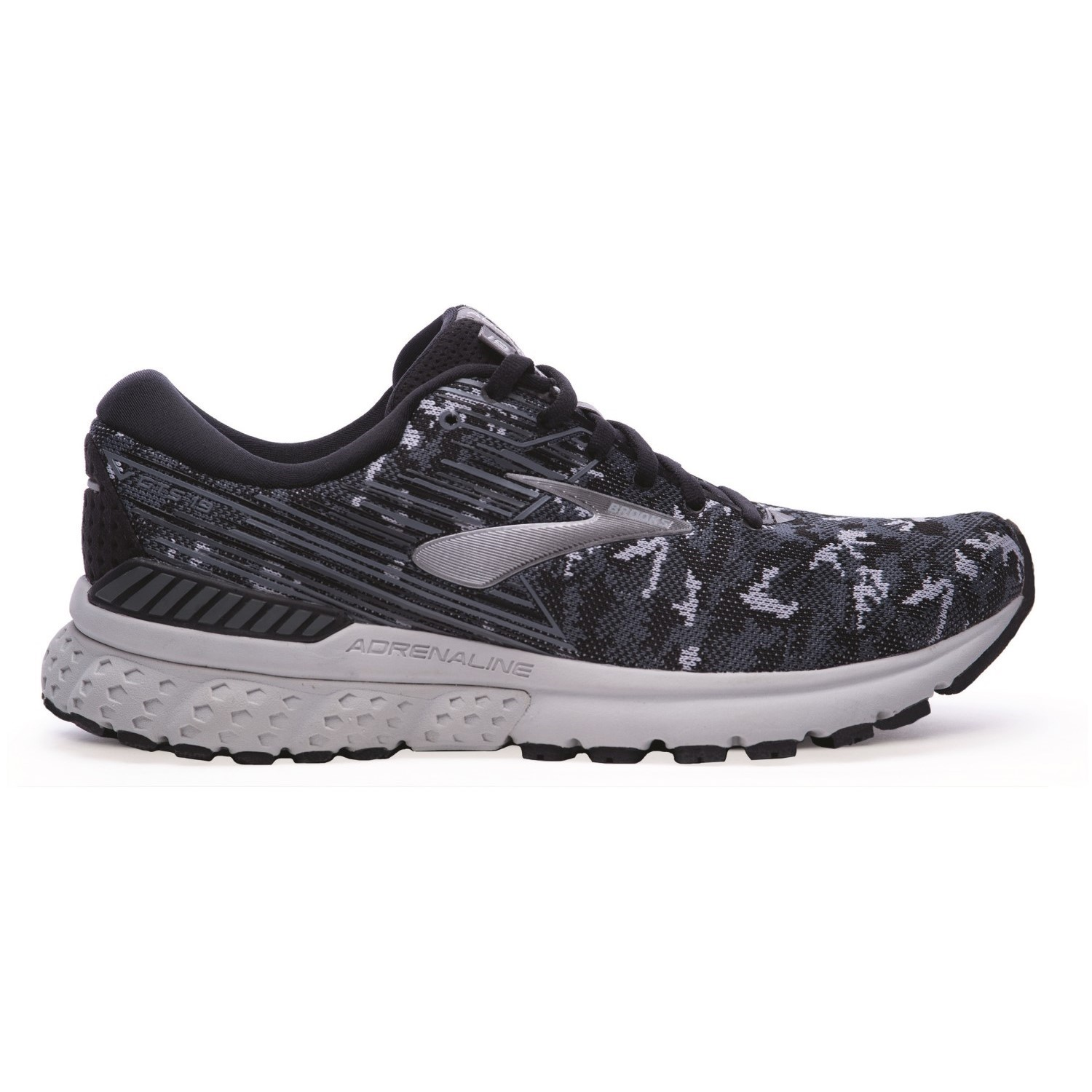 262a2b2dcb9 Brooks Adrenaline GTS 19 LE Camo Pack - Mens Running Shoes - Black Grey
