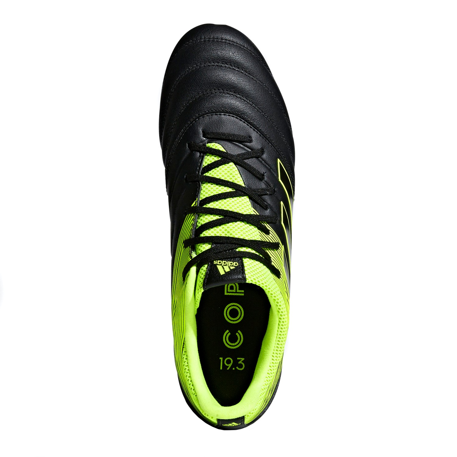 best website a778c 74488 Adidas Copa 19.3 Firm Ground - Mens Football Boots - Core Black Yellow