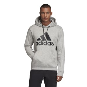 Adidas Badge Of Sport Fleece Pullover Mens Hoodie