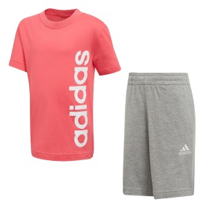 Adidas Little Kids Linear Training Summer Set