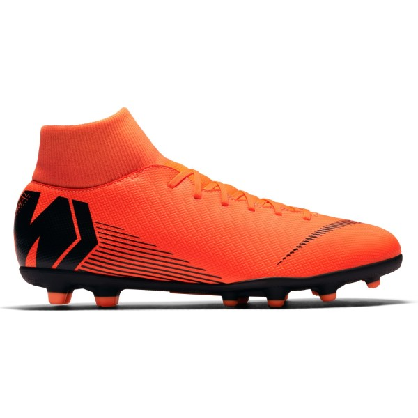 Nike Mercurial Superfly VI Club MG - Mens Football Boots - Total Orange/Black