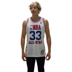 Mitchell & Ness All-Star East Larry Bird 1988 Swingman Mens Basketball Jersey