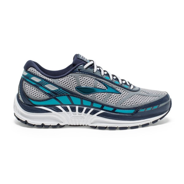 Brooks Dyad 8 - Womens Running Shoes - River Rock/Blue/Peacoat