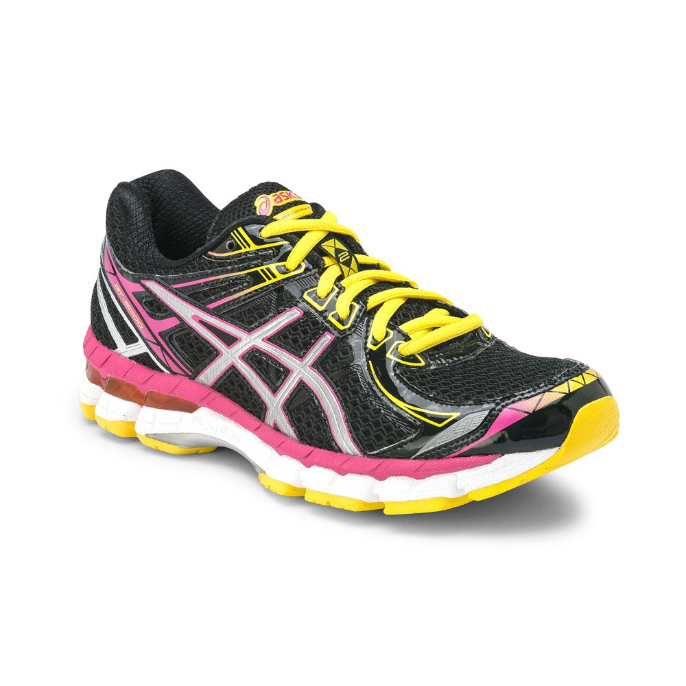 Asics Gt  Womens Running Shoes Pink Black