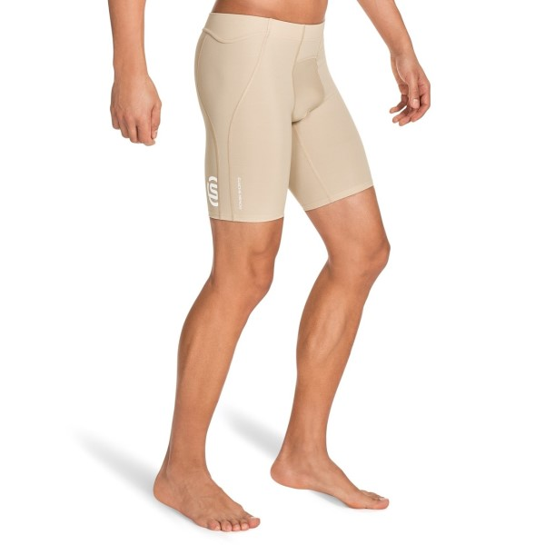 Skins A400 Mens Compression Power Shorts - Beige
