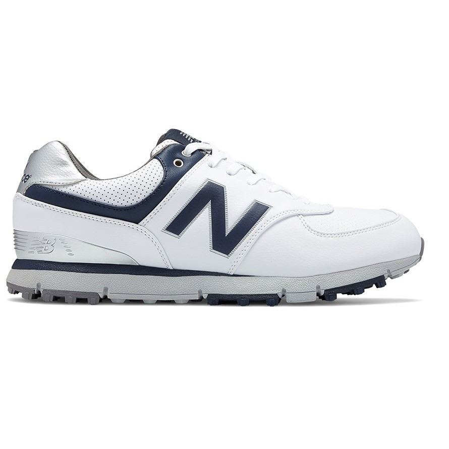 9f3d49e8b965 New Balance 574 SL - Mens Golf Shoes - White Navy Grey