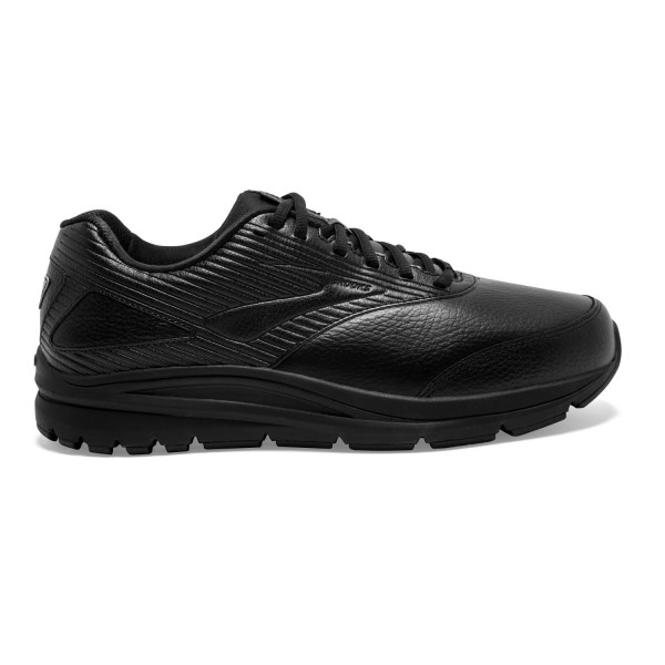 Brooks Addiction Walker 2 Leather - Mens Walking Shoes - Black