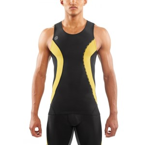 Skins DNAmic Mens Compression Sleeveless Top