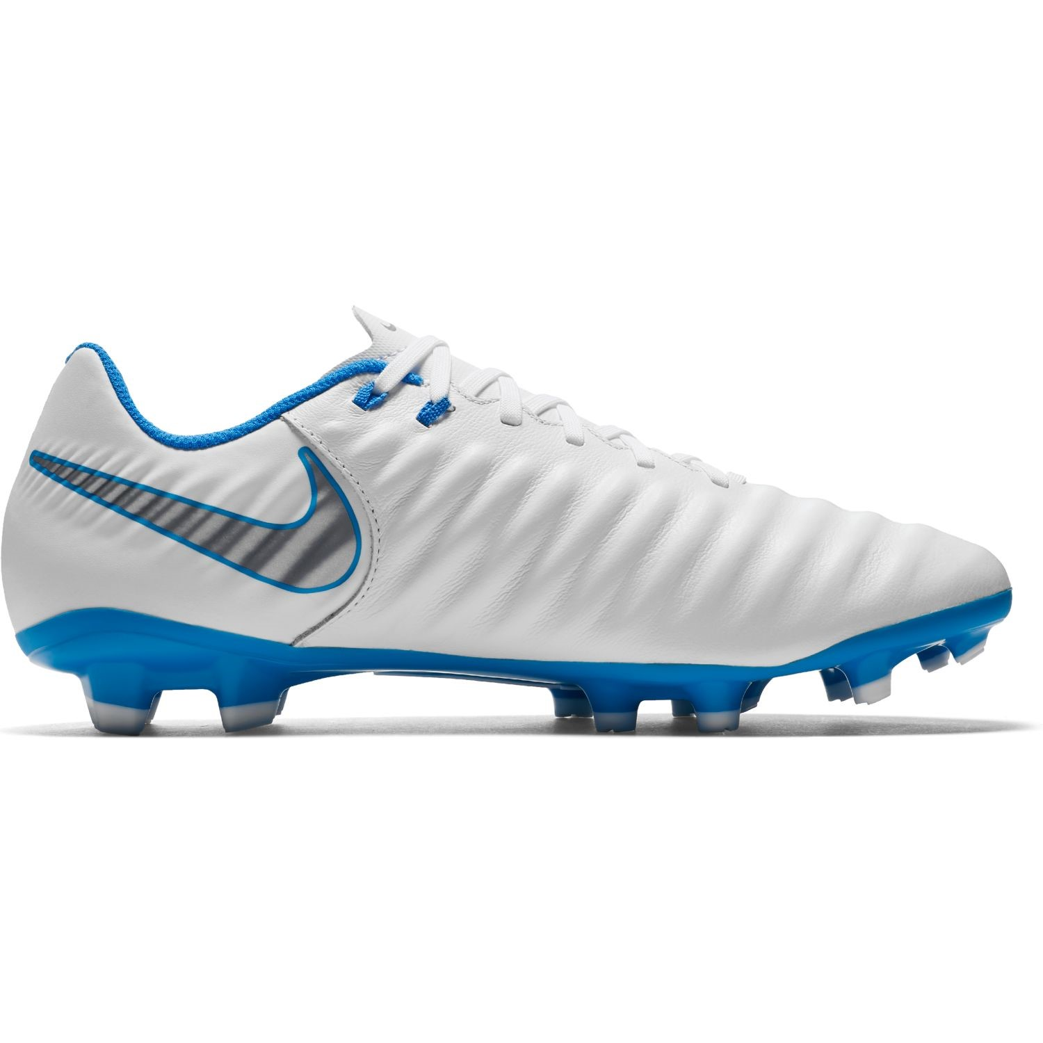 a4622855b72 Nike Tiempo Legend VII Academy FG - Mens Football Boots - White Blue Hero
