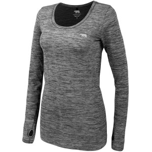 Running Bare Keep Me Dry Seamless Womens Long Sleeve Training Top