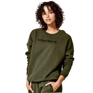 Running Bare Heritage Womens Training Sweatshirt