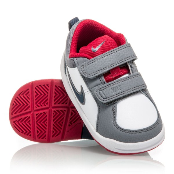 47a15dc6f36 Nike Pico 4 TDV - Toddler Boys Shoes - White Grey Red