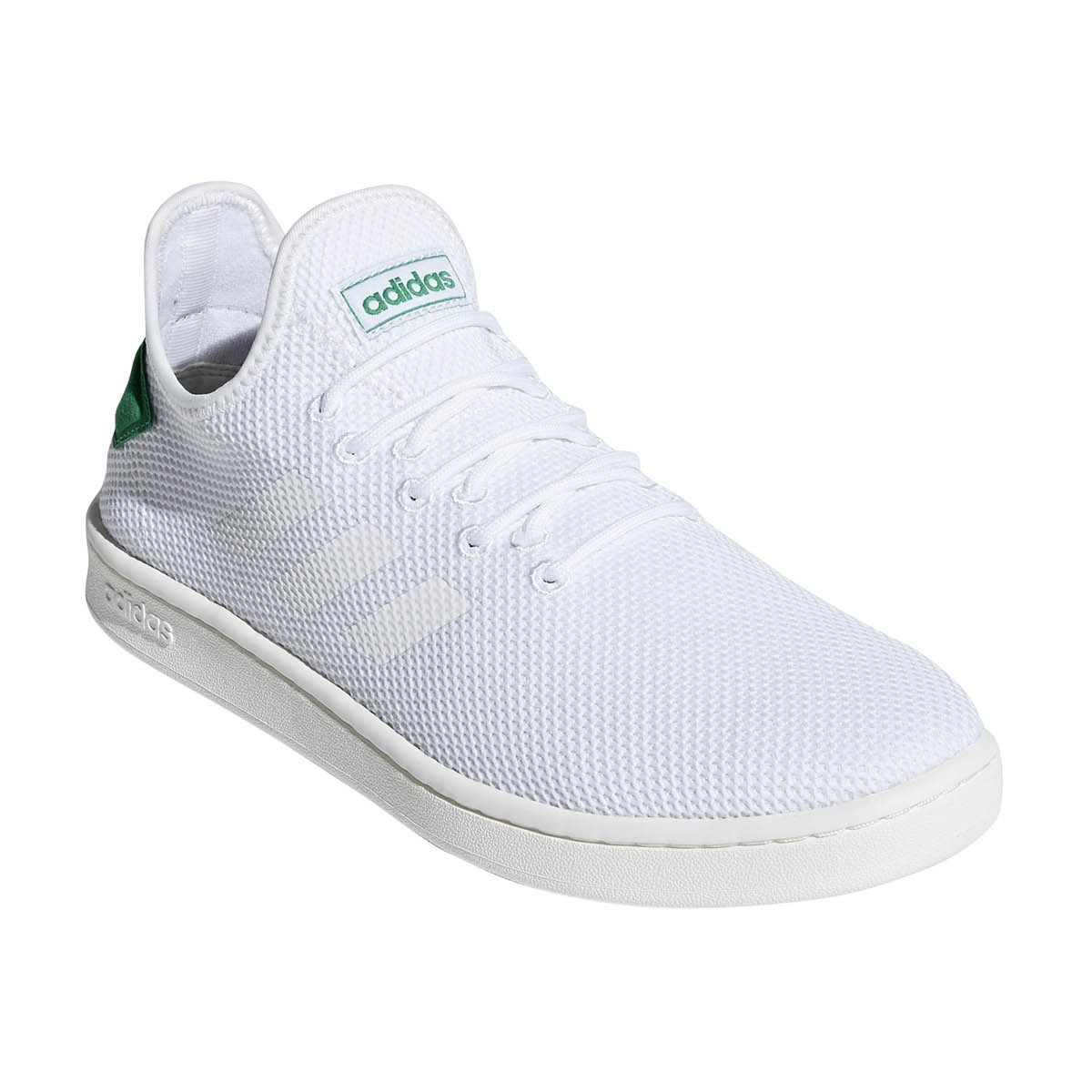 the latest c1f5b 2b659 Adidas Court Adapt - Mens Sneakers - Footwear White Green