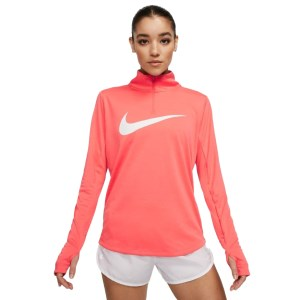 Nike Midlayer Swoosh 1/4 Zip Womens Long Sleeve Running Top