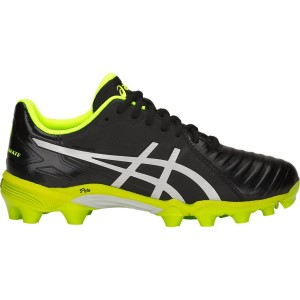 16ec47ac8d47 Asics Lethal Ultimate GS - Kids Boys Football Boots - Black Silver Green