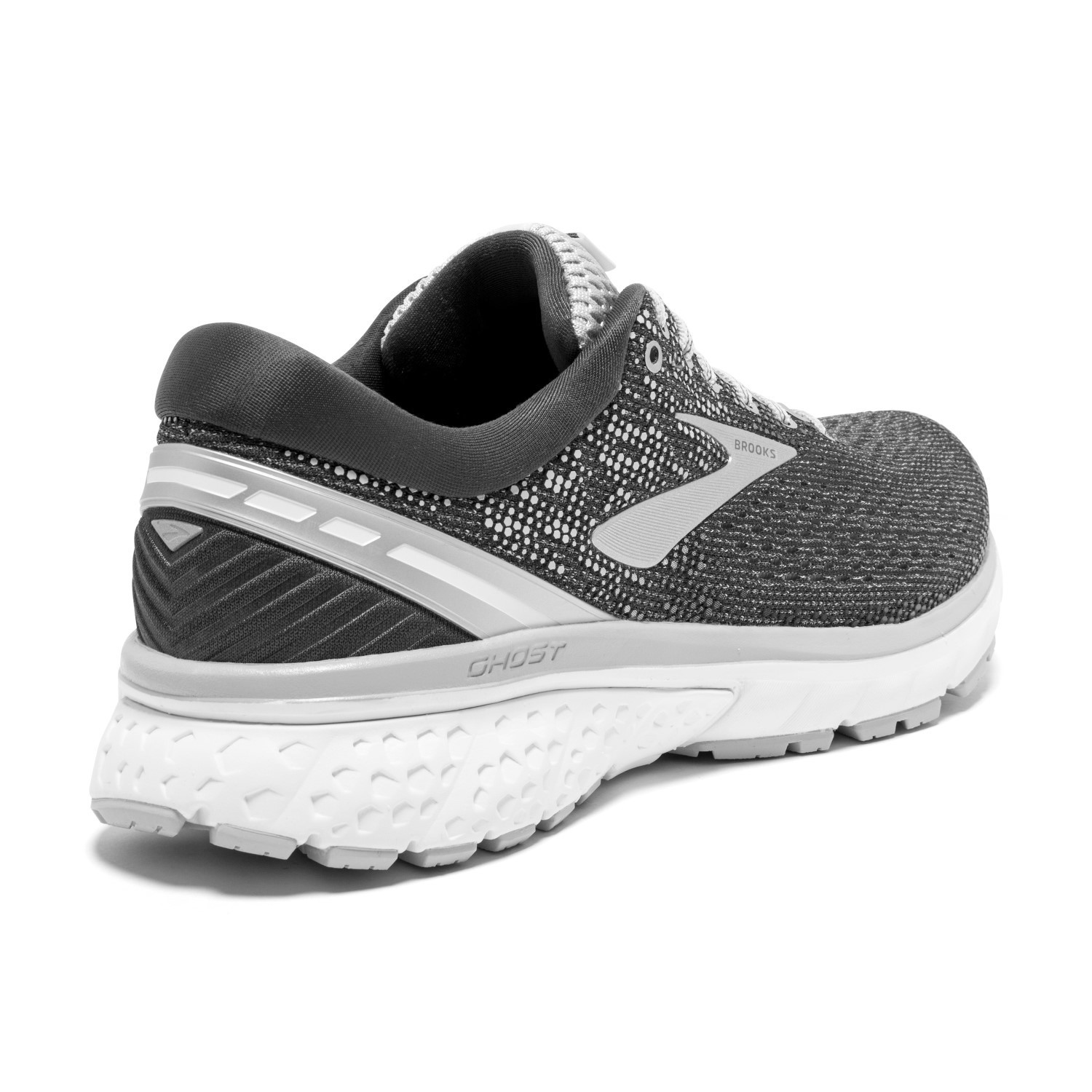 19b283b0bae54 Brooks Ghost 11 - Womens Running Shoes - Ebony Grey Silver