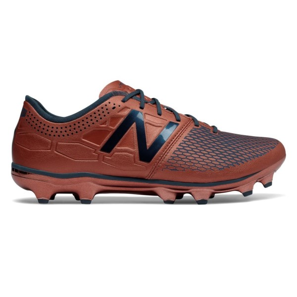 New Balance Visaro 2.0 Conduction Pack FG - Mens Football Boots - Bronze/Navy