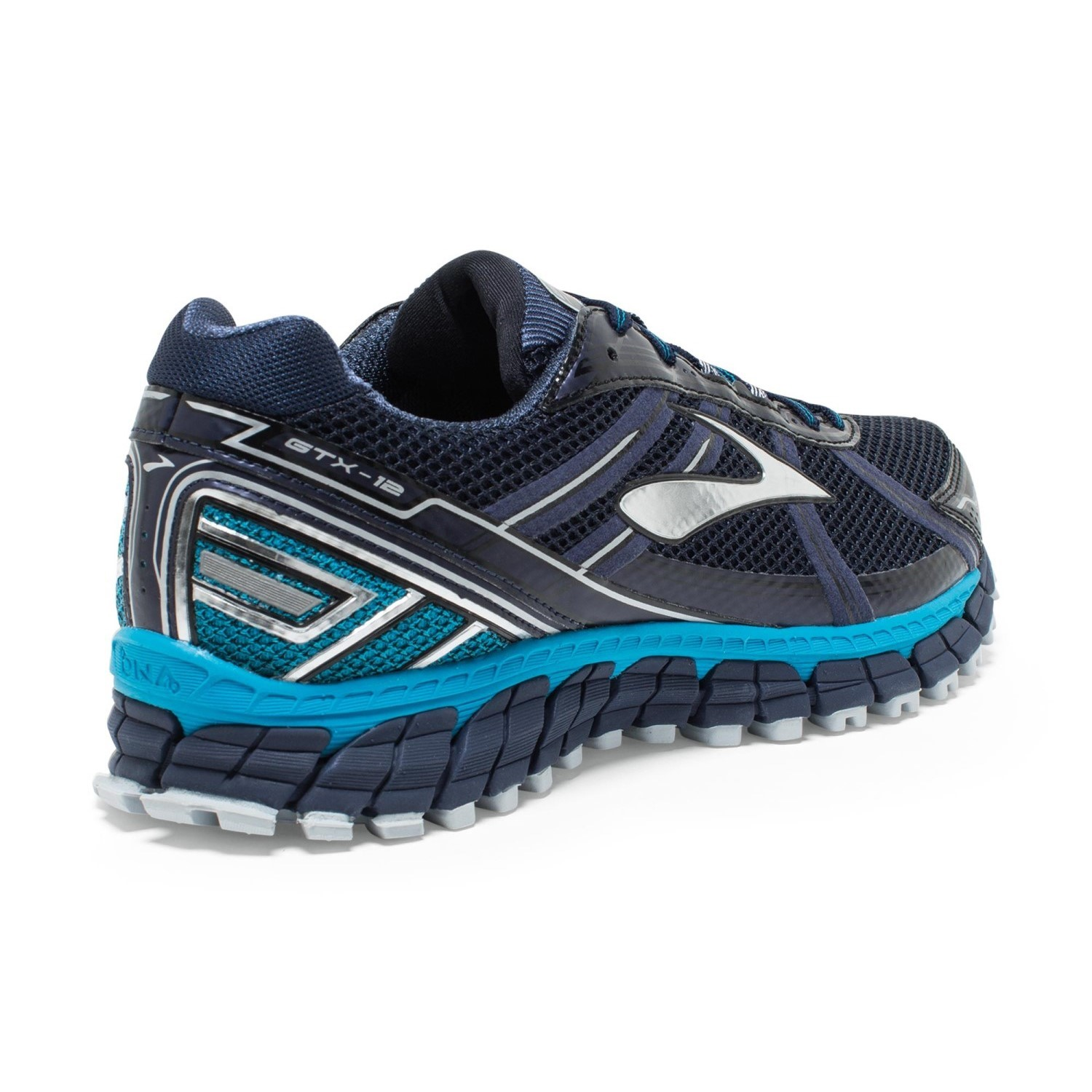 c52a5bc360475 Brooks Adrenaline ASR 12 GTX - Mens Trail Running Shoes - Peacoat Atomic  Blue