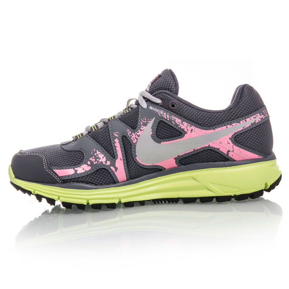 nike lunarfly 3 trail womens trail running shoes grey