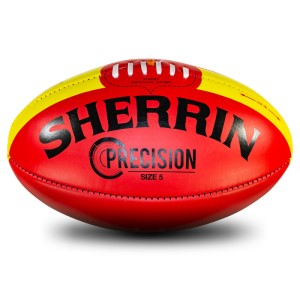 Sherrin Precision Leather Football - Size 5