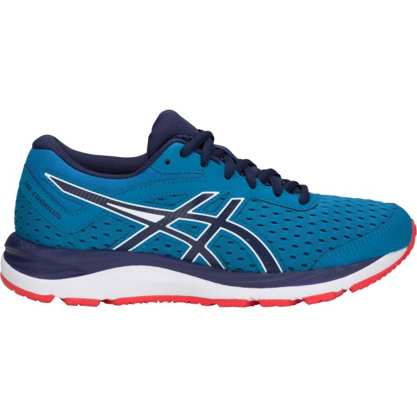 Asics Gel Cumulus 20 GS - Kids Boys Running Shoes - Race Blue/Peacoat