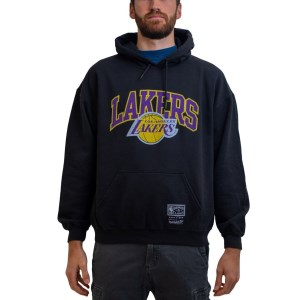 Mitchell & Ness LA Lakers Collegiate Arch NBA Unisex Basketball Hoodie
