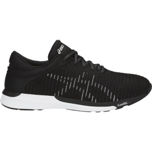 Asics FuzeX Rush Adapt - Mens Casual Shoes - Black/White/Dark Grey