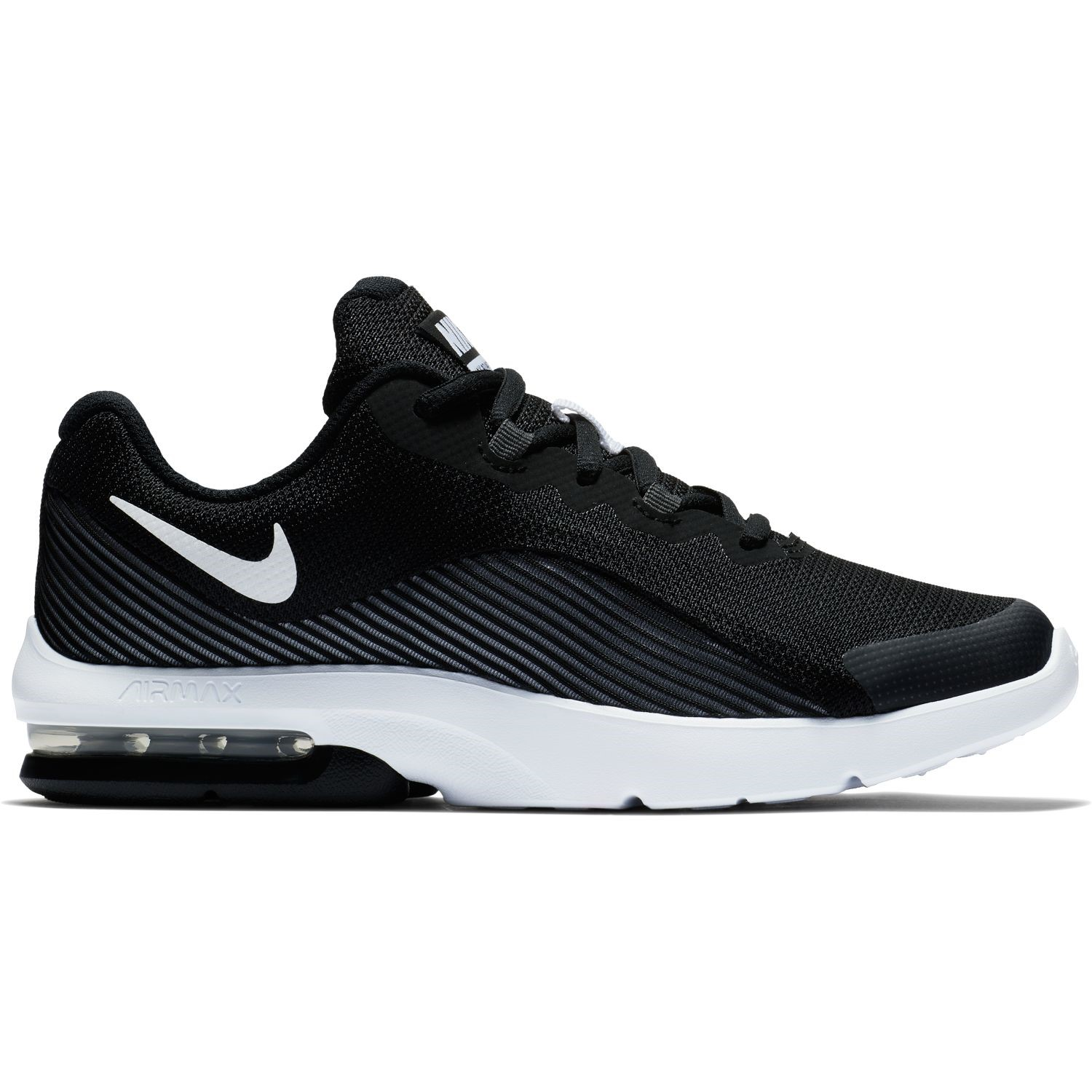 new product b0806 a4fcf Nike Air Max Advantage 2 GS - Kids Boys Sneakers - Black White
