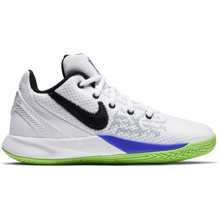 74ec10e3dd8d Nike Kyrie Flytrap II GS - Kids Basketball Shoes - White Black Lime Blast