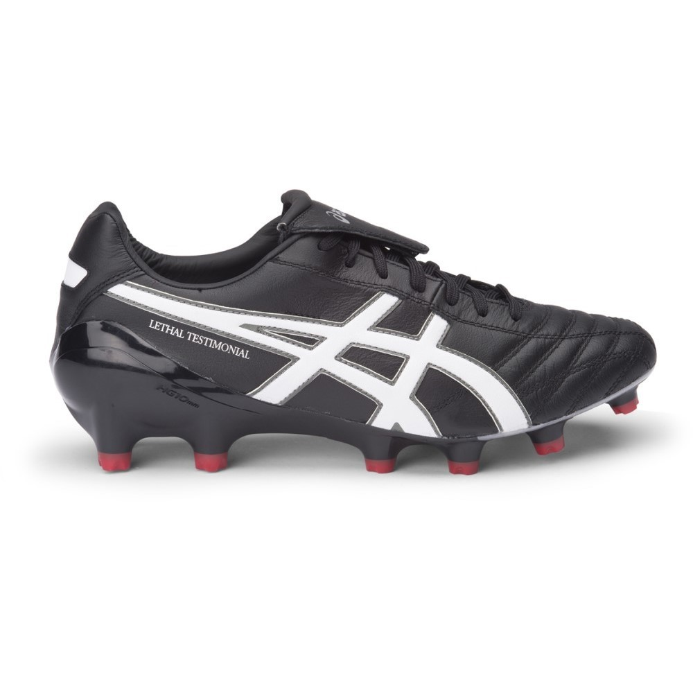 all black asics boots