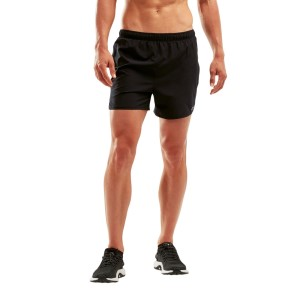 2XU X-Vent Mens 5 Inch Running Shorts With Brief