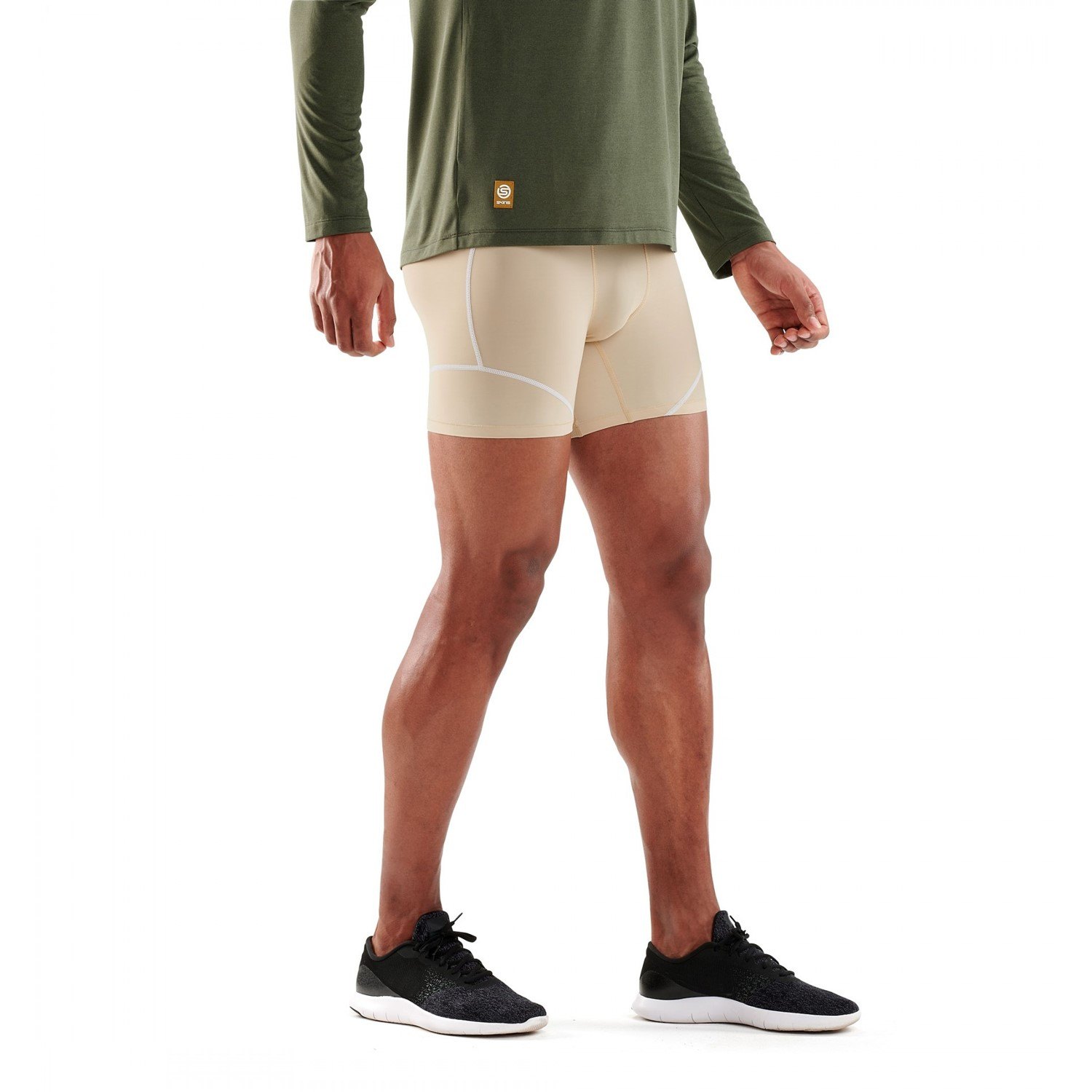 1708f21b14 Skins DNAmic Team Mens Compression Shorts - Neutral | Sportitude