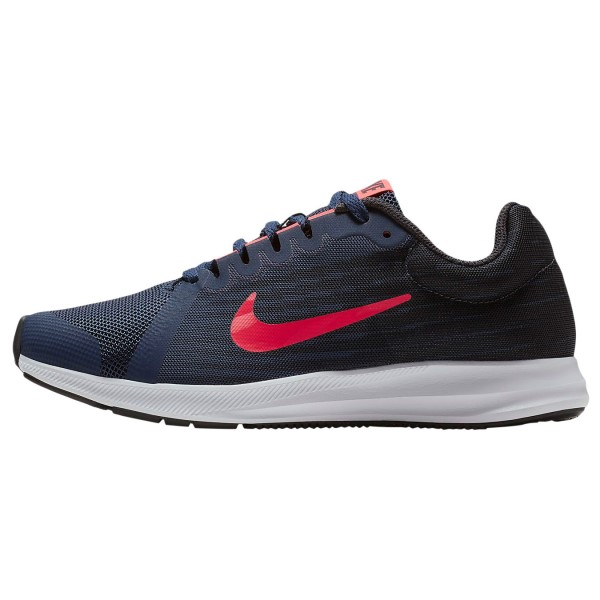 Nike Downshifter 8 GS - Kids Running Shoes - Midnight Navy/Flash Crimson