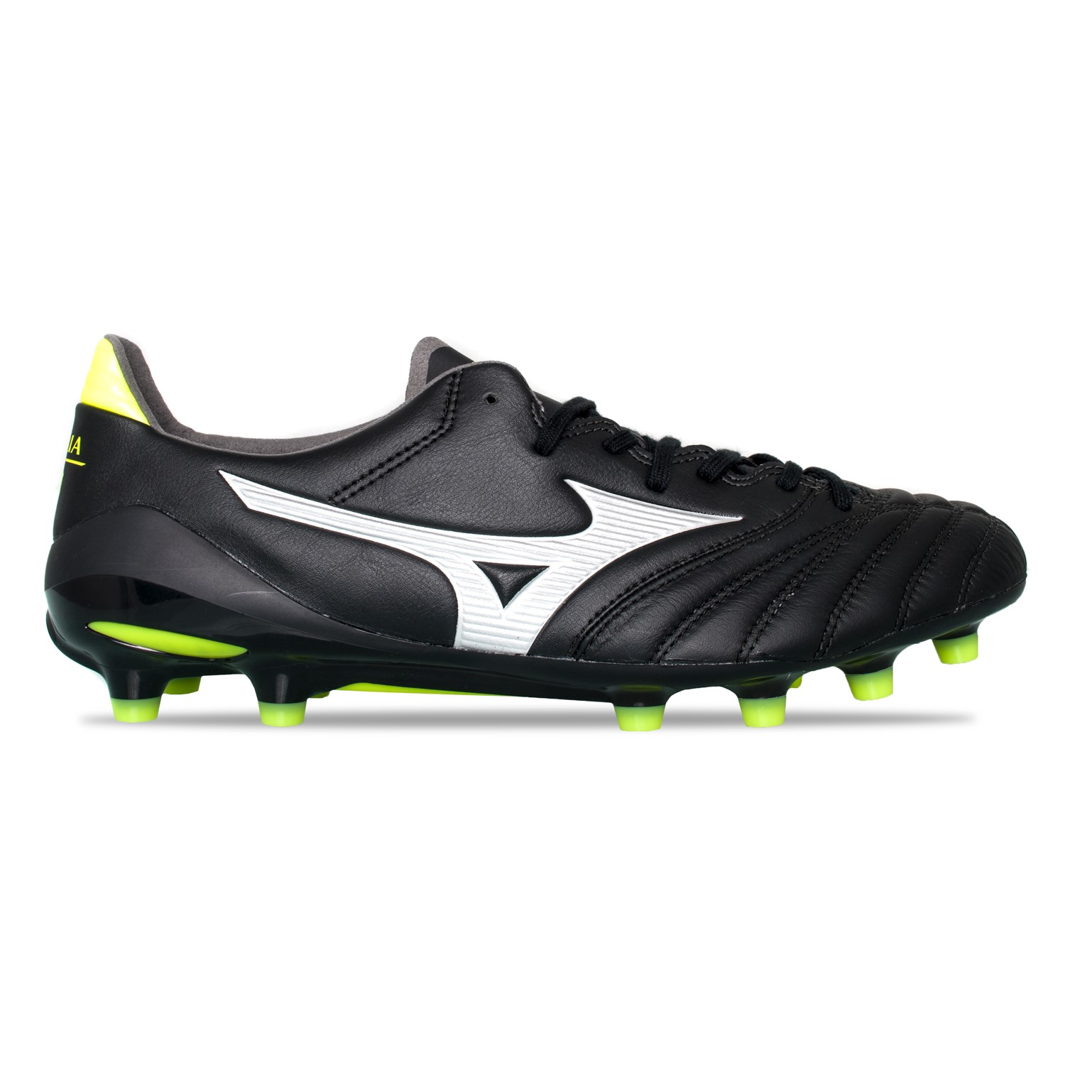 the latest 7ba41 67468 Mizuno Morelia Neo II MD - Mens Football Boots - Black Safety Yellow