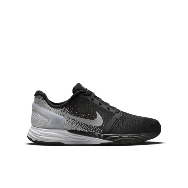 innovative design ea972 71e1d ... white australia nike lunarglide 7 gs junior boys running shoes black  metallic silver b0c85 551c7