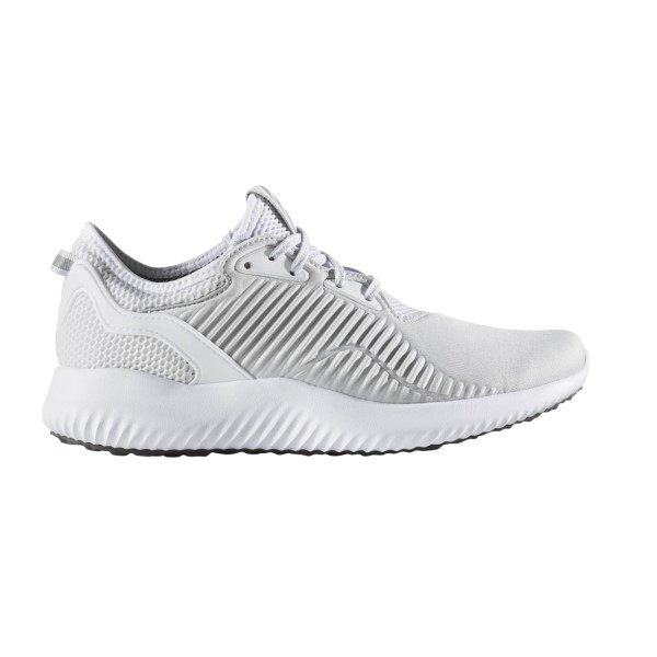 7ecc6555b Adidas Alpha Bounce Lux - Womens Running Shoes - Clear Grey White ...
