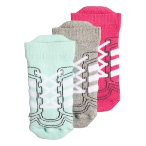 Adidas Infant Girls Ankle Socks - 3 Pairs