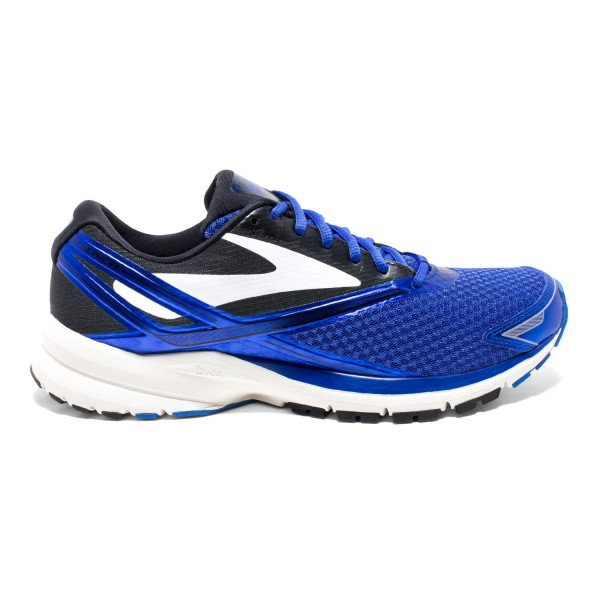 Brooks Launch 4 - Mens Running Shoes - Brooks Blue/Black/White