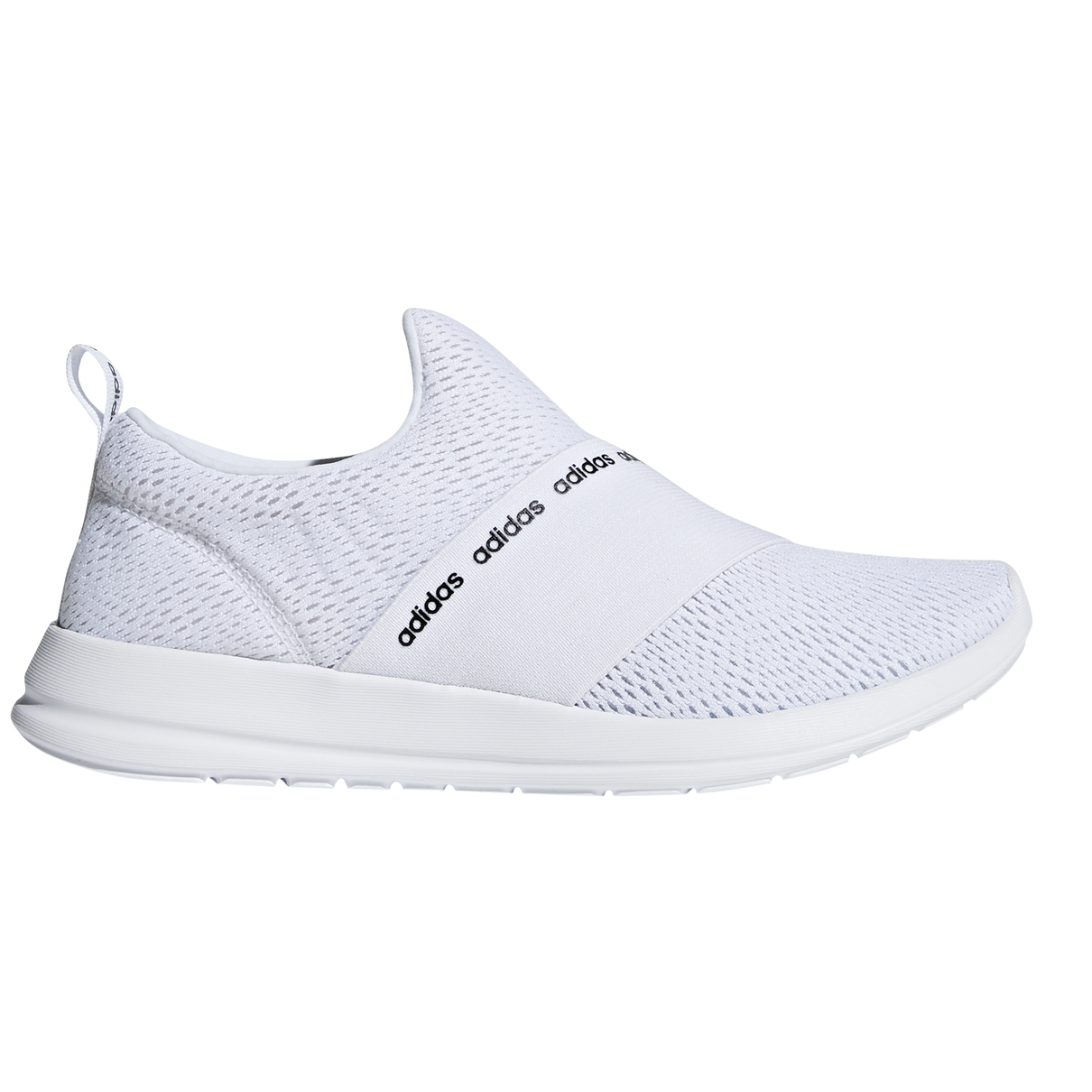 d71a3cc6ccae Adidas Cloudfoam Refine Adapt - Womens Sneakers - Triple White Grey ...