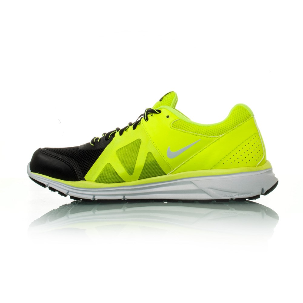 23ac34d8aa7b Nike Lunar Forever 4 MSL - Mens Running Shoes - Black Volt White ...