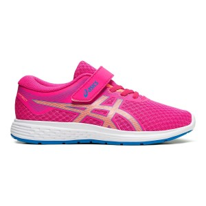 Asics Patriot 11 PS - Kids Girls Running Shoes