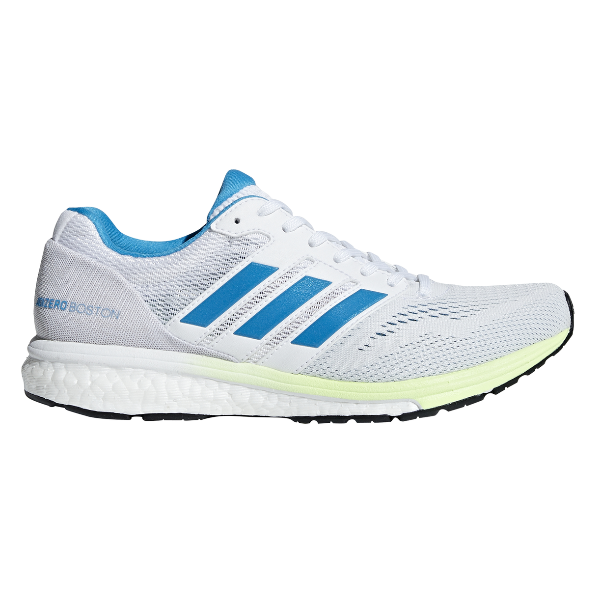 best website a70e1 26833 Adidas Adizero Boston 7 - Womens Running Shoes - White