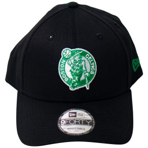 New Era Boston Celtics 9Forty Team Stripes Basketball Cap