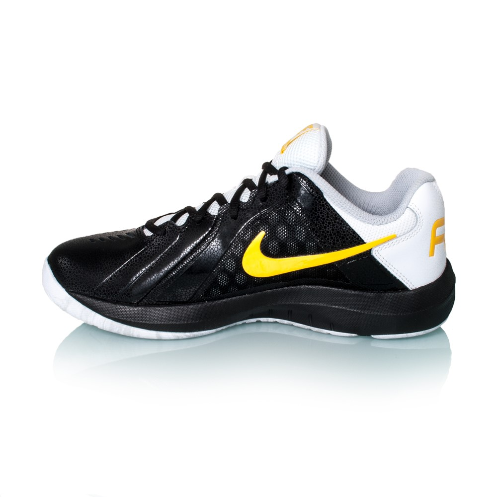nike air mavin low mens basketball shoes black varsity maize white online sportitude. Black Bedroom Furniture Sets. Home Design Ideas