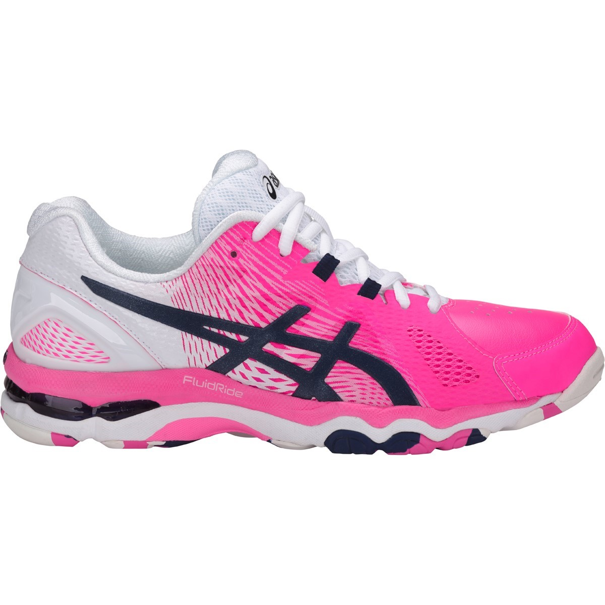 a20f77b30d8 Asics Gel Netburner Super 8 - Womens Netball Shoes - Hot Pink/Indigo Blue/