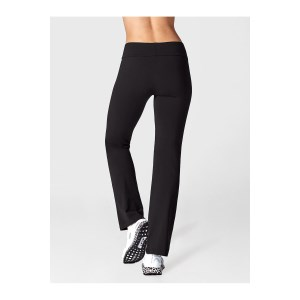 Running Bare High Rise Jazz Womens Yoga Pants - Black
