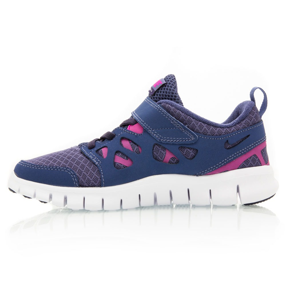 nike free run 2 psv pre school girls running shoes. Black Bedroom Furniture Sets. Home Design Ideas
