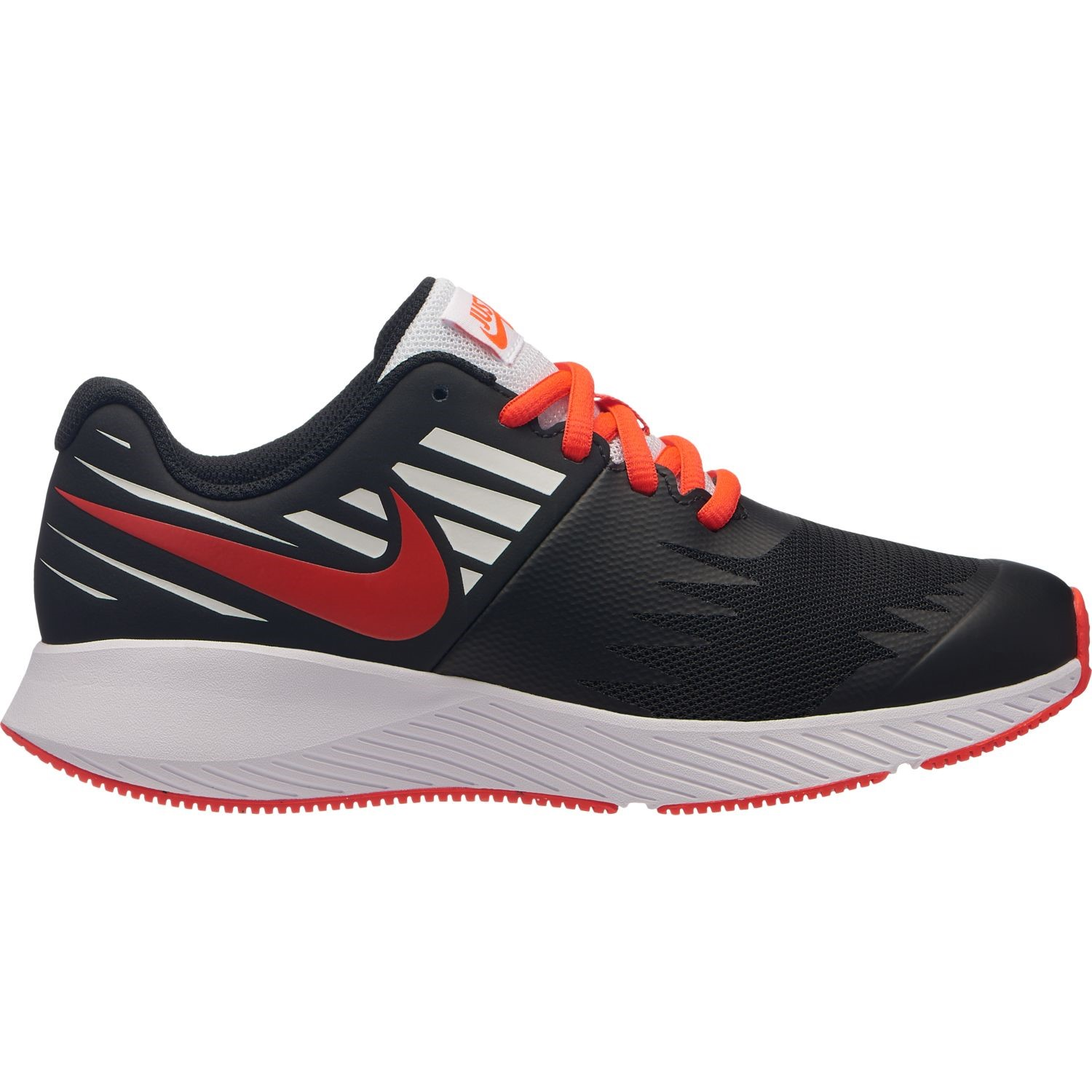 6b6631c6058 Nike Star Runner JDI GS - Kids Boys Running Shoes - Black Bright Crimson