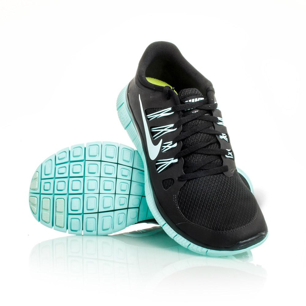 Nike Free 5.0+ - Womens Running Shoes - Black/Teal Online ...
