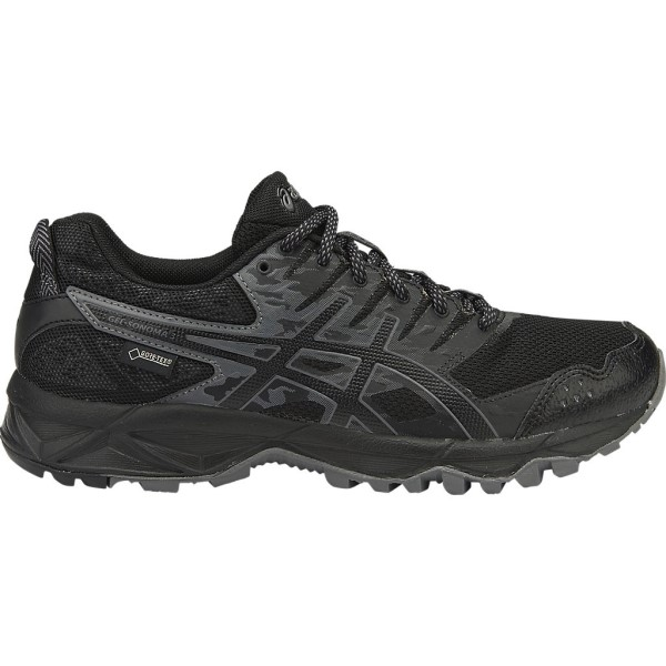 Asics Gel Sonoma 3 GTX - Womens Trail Running Shoes - Black/Onyx/Carbon